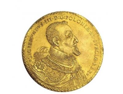 Najdroższa polska moneta sprzedana za 2.180.000 dolarów.