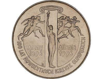 2 zł – 100 lat nowożytnych Igrzysk Olimpijskich (1896 - 1996)