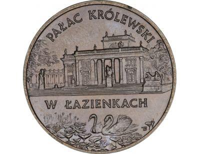 2 zł – Pałac Królewski w Łazienkach