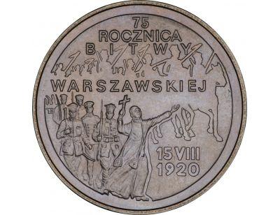 2 zł – 75. rocznica Bitwy Warszawskiej