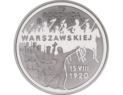 20 zł – 75. rocznica Bitwy Warszawskiej