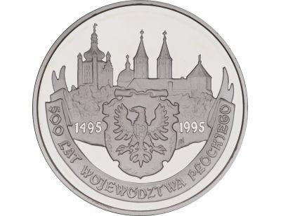 20 zł – 500 lat województwa płockiego (1495 - 1995)