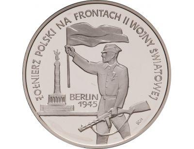 10 zł – Żołnierz Polski na Frontach II Wojny Światowej: Berlin 1945