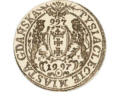 200 zł – Tysiąclecie Miasta Gdańska (997 - 1997)