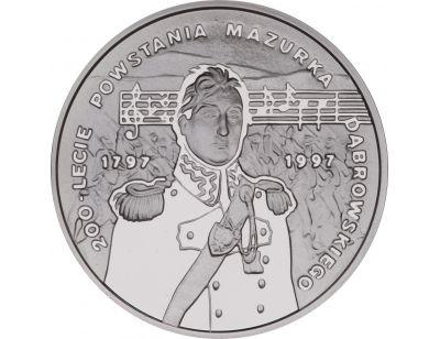 10 zł – 200-lecie powstania Mazurka Dąbrowskiego (1797 - 1997)