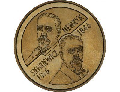 2 zł – Henryk Sienkiewicz (1846-1916)