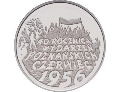 10 zł – 40. rocznica wydarzeń poznańskich 1956 r.