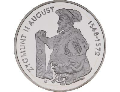 10 zł – Zygmunt II August (1548 – 1572) półpostać