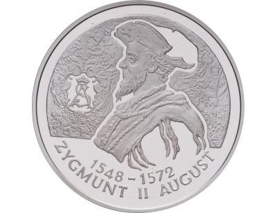 10 zł – Zygmunt II August (1548 – 1572) popiersie