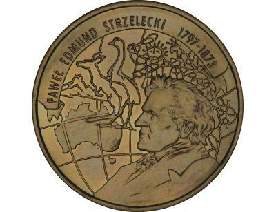 2 zł – 200-lecie urodzin Pawła Edmunda Strzeleckiego (1797 - 1873)