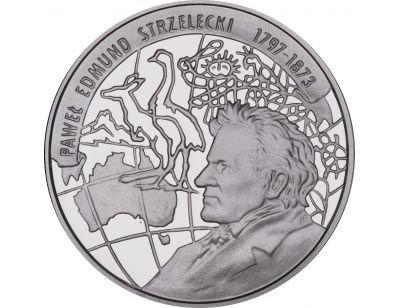 10 zł – 200-lecie urodzin Pawła Edmunda Strzeleckiego (1797 - 1873)