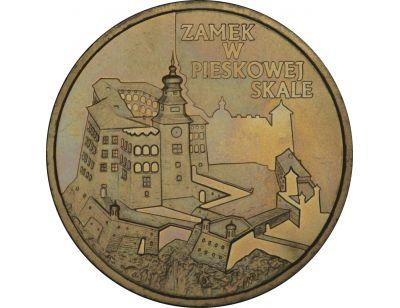 2 zł – Zamek w Pieskowej Skale
