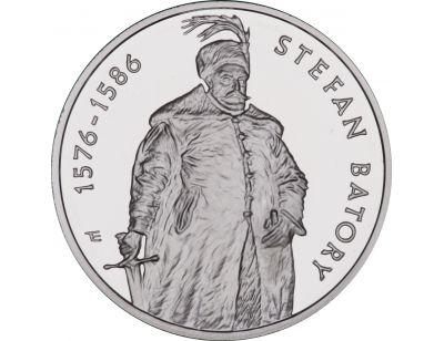 10 zł – Stefan Batory (1576 – 1586) półpostać