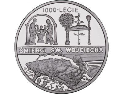 10 zł – Św. Wojciech - 1000-lecie męczeńskiej śmierci