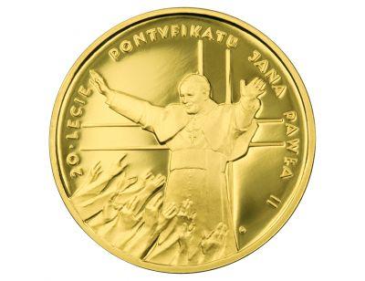 200 zł – 20-lecie pontyfikatu Jana Pawła II