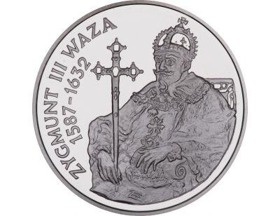 10 zł – Zygmunt III Waza (1587 – 1632) półpostać