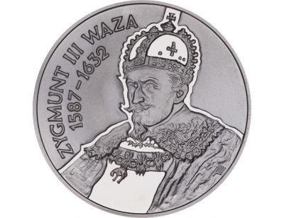 10 zł – Zygmunt III Waza (1587 – 1632) popiersie