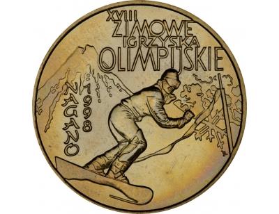 2 zł – XVI. Zimowe Igrzyska Olimpijskie w Nagano