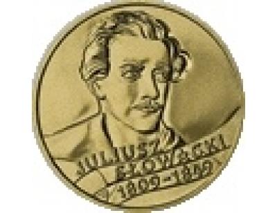 2 zł – 150. rocznica śmierci Juliusza Słowackiego (1809 - 1849)