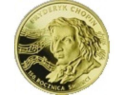 200 zł – 150. rocznica śmierci Fryderyka Chopina