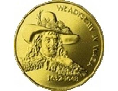 2 zł – Władysław IV Waza (1632 - 1648)