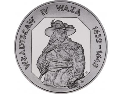 10 zł – Władysław IV Waza (1632 – 1648) półpostać