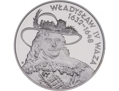 10 zł – Władysław IV Waza (1632 – 1648) popiersie