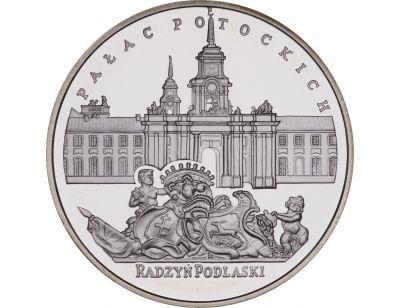 20 zł – Pałac Potockich w Radzyniu Podlaskim