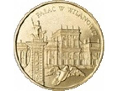 2 zł – Pałac w Wilanowie