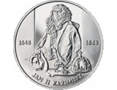 10 zł – Jan II Kazimierz (1648 – 1668) półpostać
