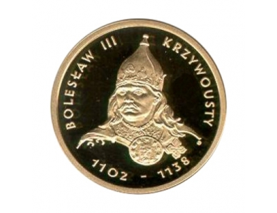 100 zł – Bolesław III Krzywousty (1102-1138)