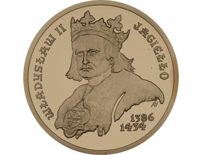 100 zł – Władysław II Jagiełło (1386-1434)