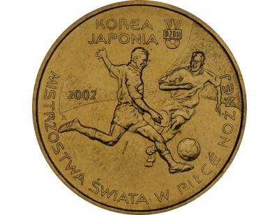 2 zł – Mistrzostwa Świata w Piłce Nożnej 2002 Korea/Japonia