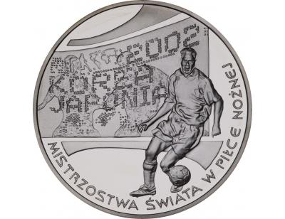 10 zł – Mistrzostwa Świata w Piłce Nożnej 2002 Korea/Japonia