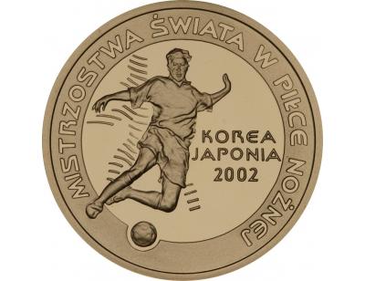 100 zł – Mistrzostwa Świata w Piłce Nożnej 2002 Korea/Japonia