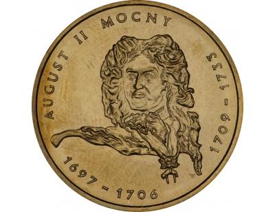 2 zł – August II Mocny (1697-1706; 1709-1733)