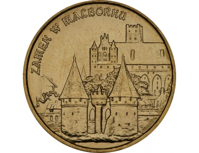 2 zł – Zamek w Malborku