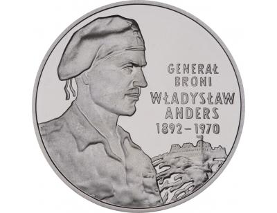 10 zł – Generał broni Władysław Anders (1892-1970)