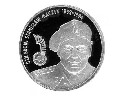 10 zł – Generał Brygady Stanisław Maczek (1892-1994)