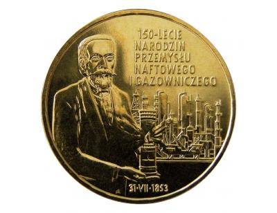 2 zł – 150-lecie narodzin przemysłu naftowego i gazowniczego