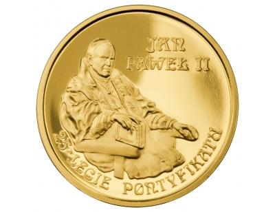 200 zł – Jan Paweł II – 25-lecie pontyfikatu