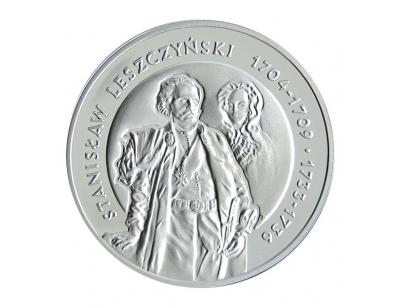 10 zł – Stanisław Leszczyński (1704-1709; 1733-1736) półpostać