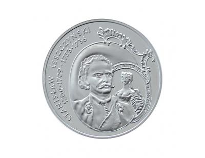 10 zł – Stanisław Leszczyński (1704-1709; 1733-1736) popiersie