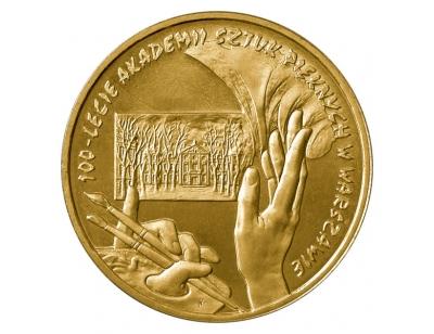2 zł – 100. rocznica utworzenia Akademii Sztuk Pięknych