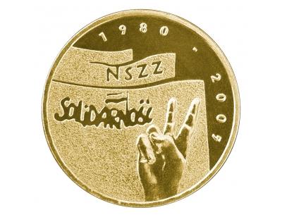 """2 zł – 25-lecie NSZZ """"Solidarność"""""""