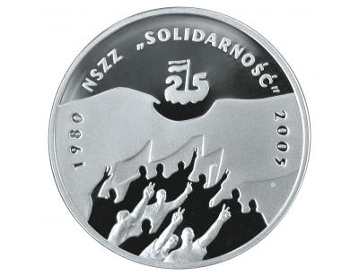 """10 zł – 25-lecie NSZZ """"Solidarność"""""""