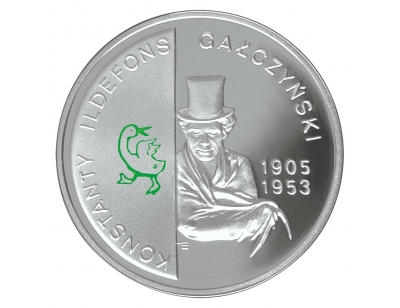 10 zł – Konstanty Ildefons Gałczyński (1905-1953) – 100. rocznica urodzin