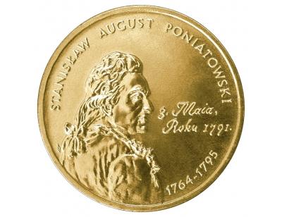 2 zł – Stanisław August Poniatowski (1764-1795)