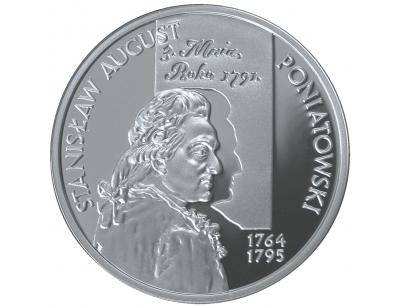 10 zł – Stanisław August Poniatowski (1764-1795) popiersie
