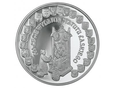 10 zł – 500-lecie wydania Statutu Łaskiego